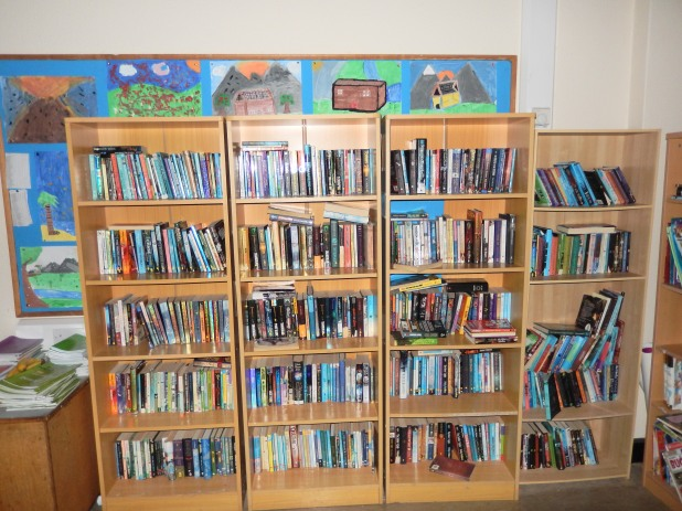 We are always delighted to receive donations of children's books for our class libraries. We currently have over 16,000 books in our libraries and they are a vital resource for learning to read.